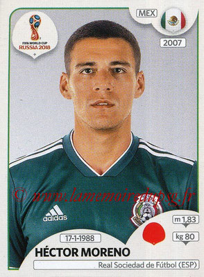 2018 - Panini FIFA World Cup Russia Stickers - N° 457 - Héctor MORENO (Mexique)