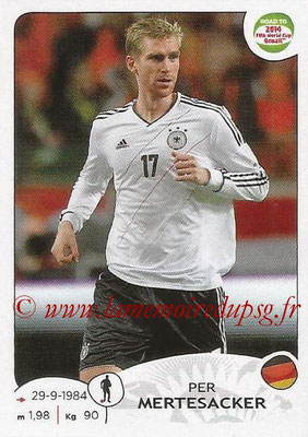 2014 - Panini Road to FIFA World Cup Brazil Stickers - N° 039 - Per MERTESACKER (Allemagne)