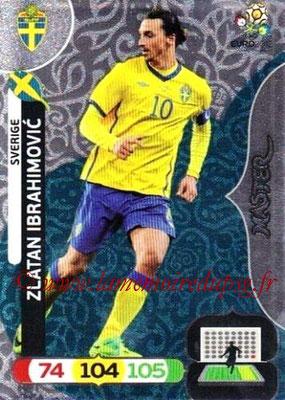 Panini Euro 2012 Cards Adrenalyn XL - N° 299 - Zlatan IBRAHIMOVIC (Suède) (Master)