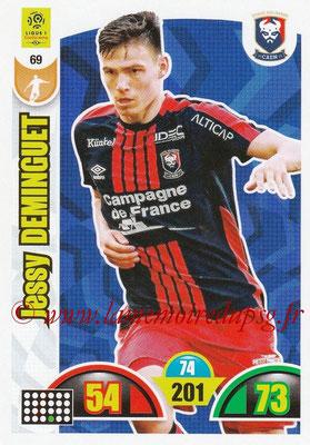 2018-19 - Panini Adrenalyn XL Ligue 1 - N° 069 - Jessy DEMINGUET (Caen)