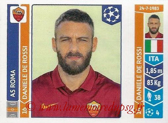2014-15 - Panini Champions League N° 405 - Daniele DE ROSSI (AS Rome)