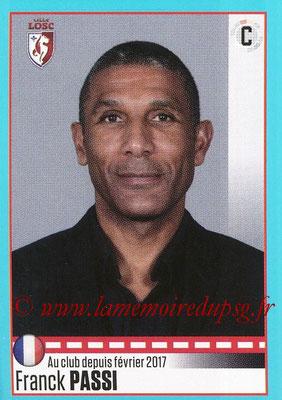 2016-17 - Panini Ligue 1 Stickers - N° T15 - Franck PASSI (Entraîneur Lille) (Set Transfert)