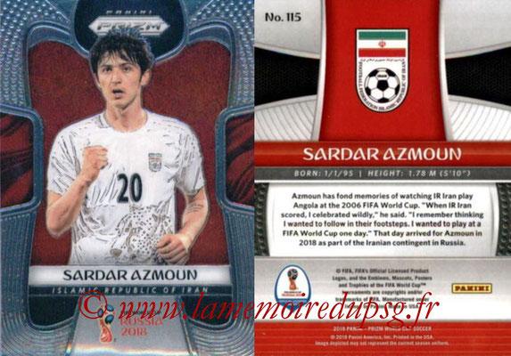 2018 - Panini Prizm FIFA World Cup Russia - N° 115 - Sardar AZMOUN (Iran)