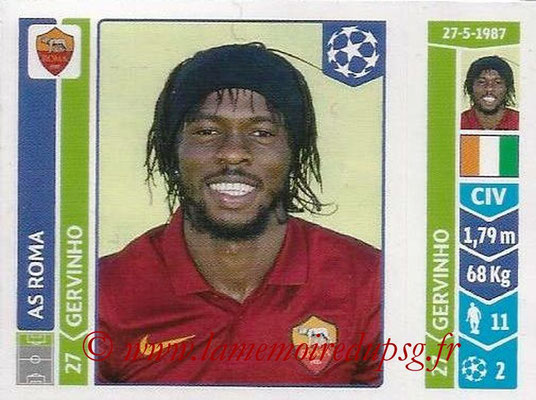 2014-15 - Panini Champions League N° 409 - GERVINHO (AS Rome)