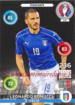 Panini Euro 2016 Cards - N° 175 - Leonardo BONUCCI (Italie)