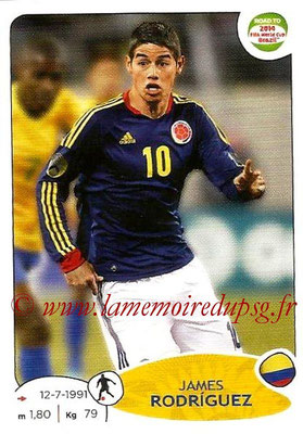2014 - Panini Road to FIFA World Cup Brazil Stickers - N° 181 - James RODRIGUEZ (Colombie)