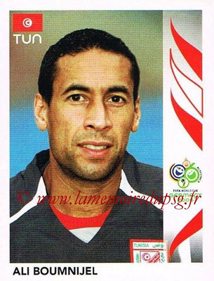 2006 - Panini FIFA World Cup Germany Stickers - N° 570 - Ali BOUMNIJEL (Tunisie)