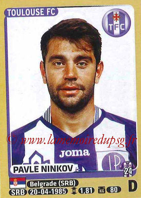 2015-16 - Panini Ligue 1 Stickers - N° 440 - Pavle NINKOV (Toulouse FC)site