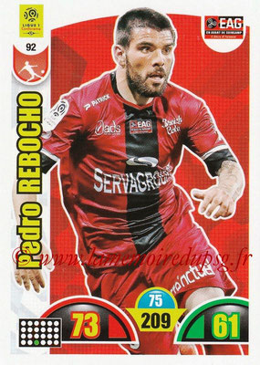 2018-19 - Panini Adrenalyn XL Ligue 1 - N° 092 - Pedro REBOCHO (Guingamp)