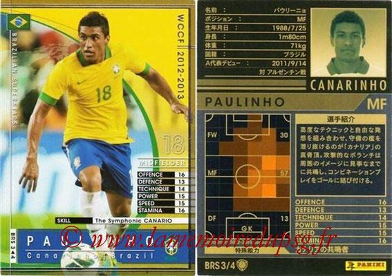 2012-13 - WCCF - N° BRS3 - PAULINO (Brésil)