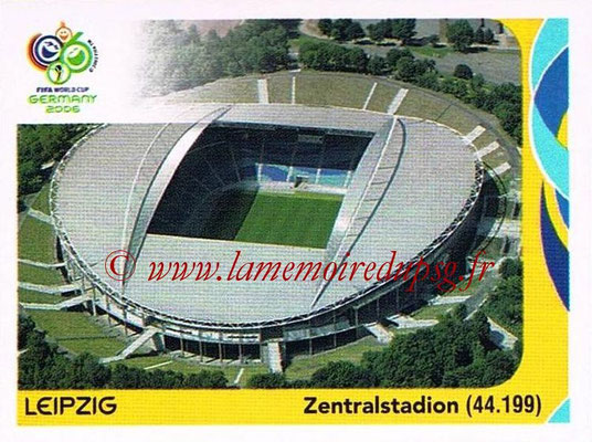 2006 - Panini FIFA World Cup Germany Stickers - N° 010 - Leipzig - Zentralstadion
