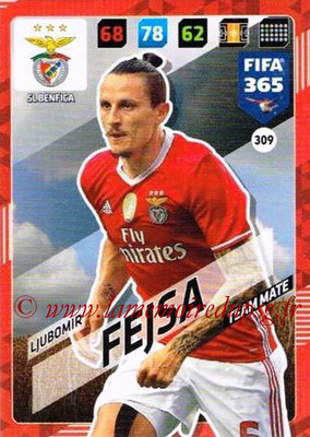 2017-18 - Panini FIFA 365 Cards - N° 309 - Ljubomir FEJSA (SL Benfica)