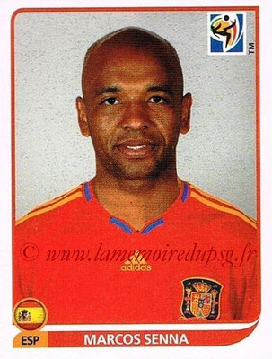 2010 - Panini FIFA World Cup South Africa Stickers - N° 572 - Marcos SENNA (Espagne)