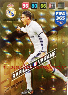 2017-18 - Panini FIFA 365 Cards - N° LE-RV - Raphaël VARANE (Real Madric CF) (Limited Edition)