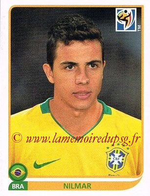 2010 - Panini FIFA World Cup South Africa Stickers - N° 502 - NILMAR (Brésil)