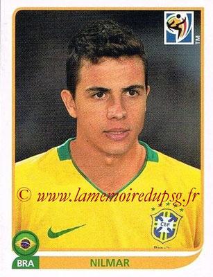 2010 - Panini FIFA World Cup South Africa Stickers - N° 502 - NILMAR (Brésil)