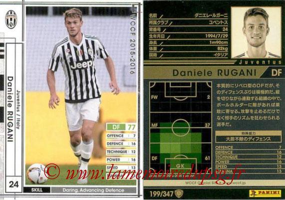2015-16 - Panini WCCF - N° 199 - Daniele RUGANI (Juventus FC)