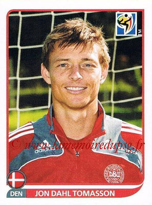 2010 - Panini FIFA World Cup South Africa Stickers - N° 371 - Jon DAHL TOMASSON (Danemark)