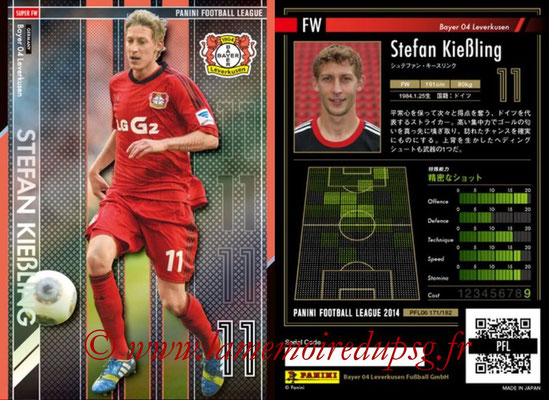 Panini Football League 2014 - PFL06 - N° 171 - Stefan KIEBLING (Bayer 04 Leverkusen) (Super FW)