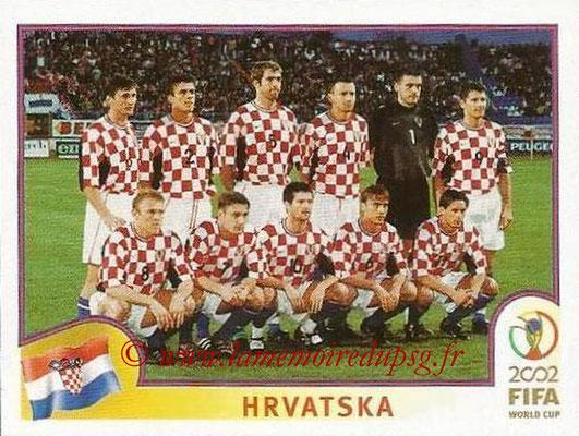 2002 - Panini FIFA World Cup Stickers - N° 475 - Equipe Croatie