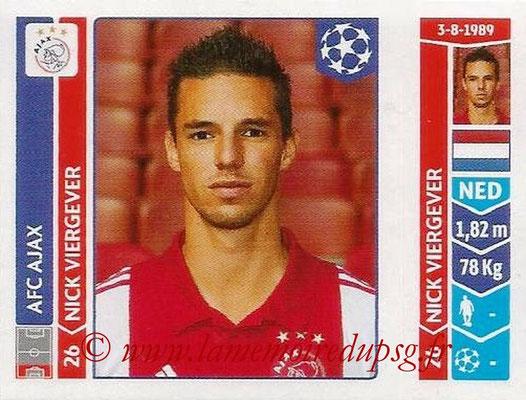 2014-15 - Panini Champions League N° 459 - Nick VIERGEVER (AFC Ajax)