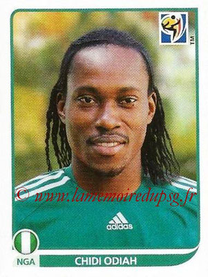 2010 - Panini FIFA World Cup South Africa Stickers - N° 131 - Chidi ODIAH (Nigeria)