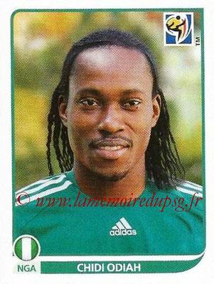 2010 - Panini FIFA World Cup South Africa Stickers - N° 131 - Chidi ODIAH (Nigeria)