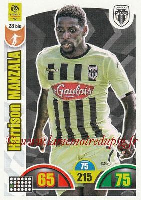 2018-19 - Panini Adrenalyn XL Ligue 1 - N° 028 bis - Harrison MANZALA (Angers)