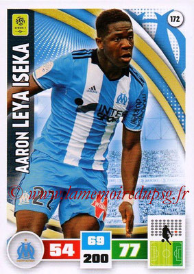 2016-17 - Panini Adrenalyn XL Ligue 1 - N° 172 - Aaron LEYA ISEKA (Marseille)