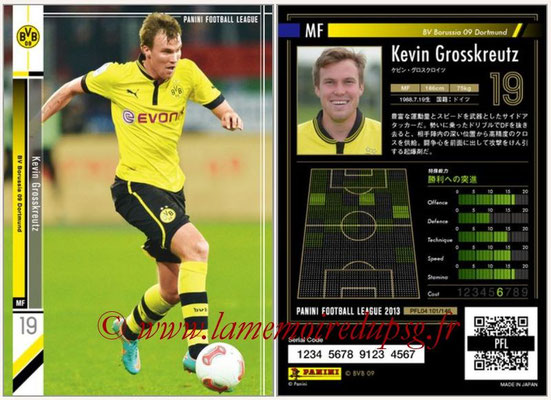 Panini Football League 2013 - PFL04 - N° 101 - Kevin GROSSKREUTZ(Borussia Dortmund)