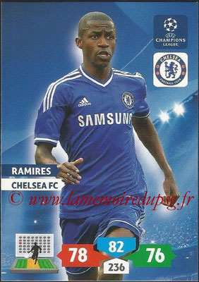 2013-14 - Adrenalyn XL champions League N° 123 - RAMIRES (Chelsea FC)