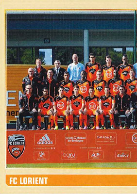 2014-15 - Panini Ligue 1 Stickers - N° 170 - Equipe FC Lorient