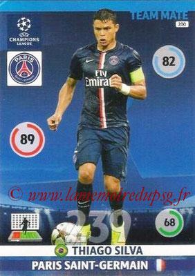 2014-15 - Adrenalyn XL champions League N° 200 - Thiago SILVA (Paris Saint-Germain)