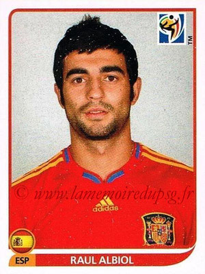 2010 - Panini FIFA World Cup South Africa Stickers - N° 568 - Raul ALBIOL (Espagne)