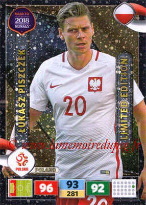 2018 - Panini Road to FIFA World Cup Russia Adrenalyn XL - N° LE-LP - Lukasz PISZCZEK (Pologne) (Limited Edition)