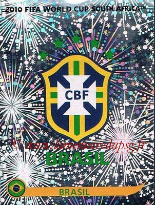 2010 - Panini FIFA World Cup South Africa Stickers - N° 487 - Logo Brésil