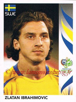 2006 - Panini FIFA World Cup Germany Stickers - N° 166 - Zlatan IBRAHIMOVIC (Suède)