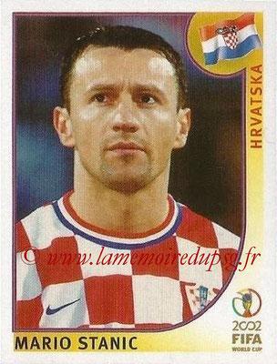2002 - Panini FIFA World Cup Stickers - N° 487 - Mario STANIC (Croatie)