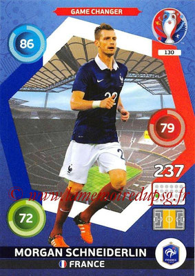 Panini Euro 2016 Cards - N° 130 - Morgan SCHNEIDERLIN (France) (Game Changer)