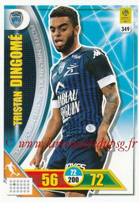 2017-18 - Panini Adrenalyn XL Ligue 1 - N° 349 - Tristan DINGOME (Troyes)