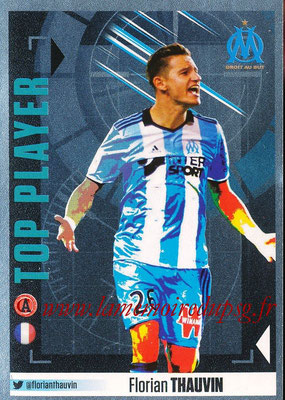 2016-17 - Panini Ligue 1 Stickers - N° 422 - Florian THAUVIN (Marseille) (Top Player)