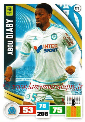 2016-17 - Panini Adrenalyn XL Ligue 1 - N° 176 - Abou DIABY (Marseille)