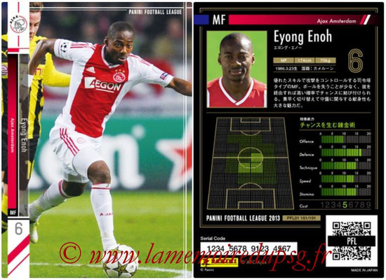 Panini Football League 2013 - PFL01 - N° 161 - Eyong Enoh ( Ajax Amsterdam )