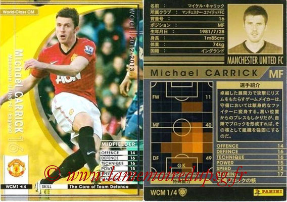 2012-13 - WCCF - N° WCM1 - Michaël CARRICK (Manchester United FC) (World Class CM)