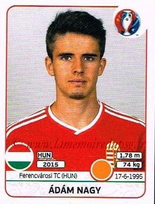 Panini Euro 2016 Stickers - N° 671 - Adam NAGY (Hongrie)
