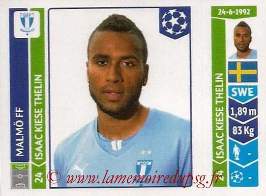 2014-15 - Panini Champions League N° 107 - Isaac KIESE (Malmö FF)