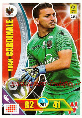 2017-18 - Panini Adrenalyn XL Ligue 1 - N° 235 - Yoan CARDINALE (Nice)