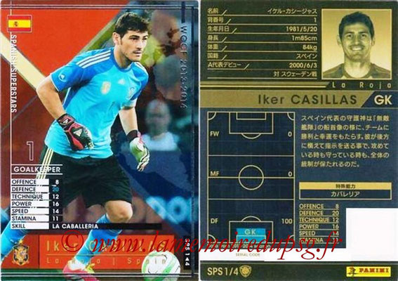 2013-14 - WCCF - N° SPS1 - Iker CASILLAS (Espagne) (Spanish Superstars)