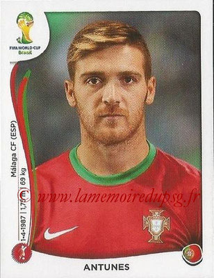 2014 - Panini FIFA World Cup Brazil Stickers - N° 515 - ANTUNES (Portugal)