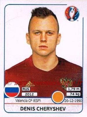 Panini Euro 2016 Stickers - N° 176 - Denis CHERYSHEV (Russie)
